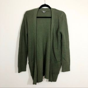 3/$23 Charlotte Russe Size M Green Cardigan
